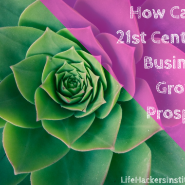 HOW CAN A 21st CENTURY BUSINESS GROW AND PROSPER?
