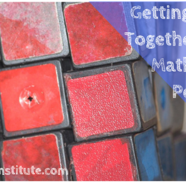 GETTING OUR SH!T TOGETHER TAKES A MATHEMATICAL PERSPECTIVE